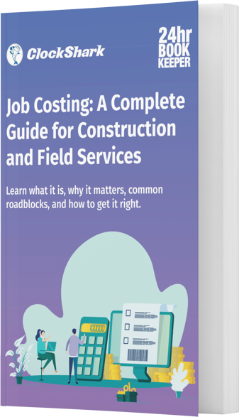 book cover - Job Costing A Complete Guide for Construction and Field Services-1