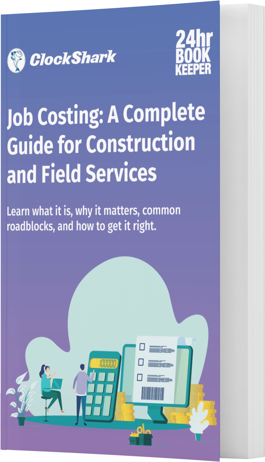 book cover - Job Costing A Complete Guide for Construction and Field Services